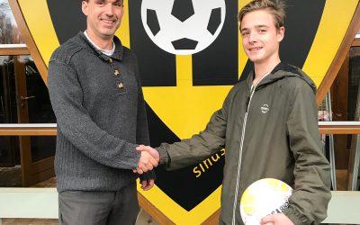 Match! VVV-Venlo verwelkomt Jongerenambassadeur Dave!