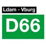 Logo D66 Leidschendam-Voorburg