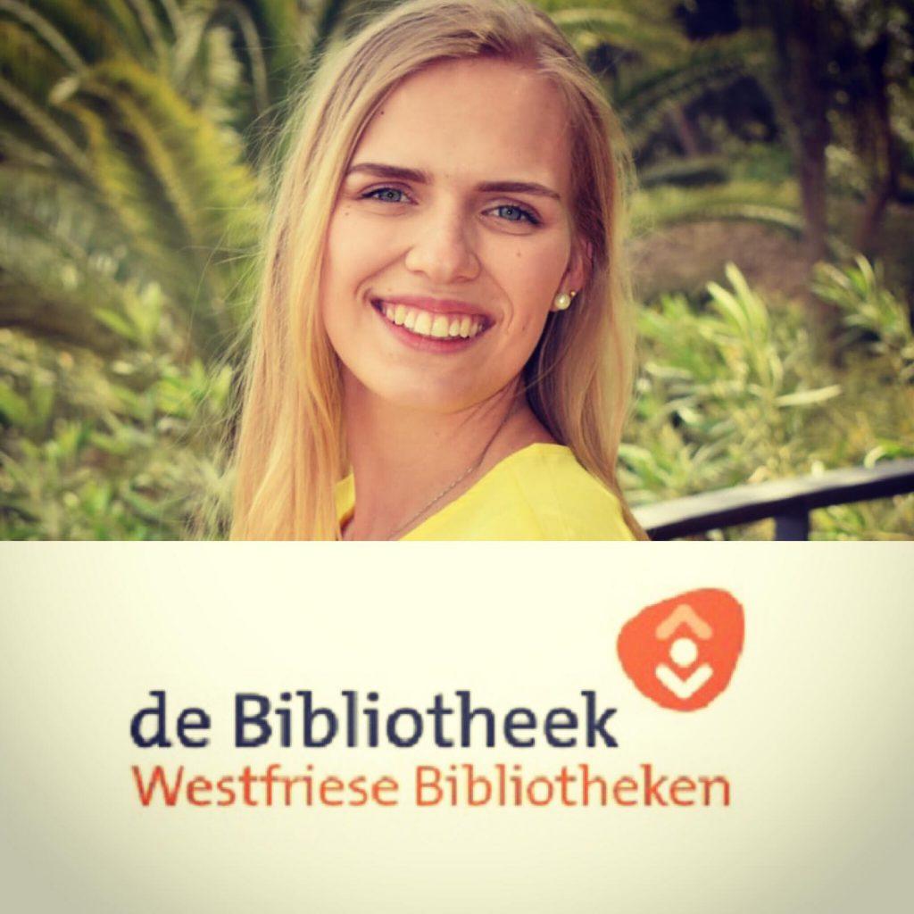 Jongerenambassadeur Karin is klaar voor haar eerste dag bij de Westfriese Bibliotheken!