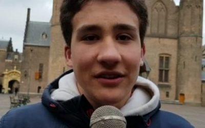 Hugo is jongerenambassadeur bij het Ministerie van BZK!