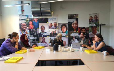 Een warme kennismaking met Amnesty International