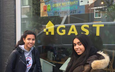 Jongerenambassadeurs denken mee met jonge asielzoekers!