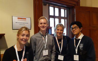 Jongerenambassadeurs nemen deel aan Vaccinatiealliantie
