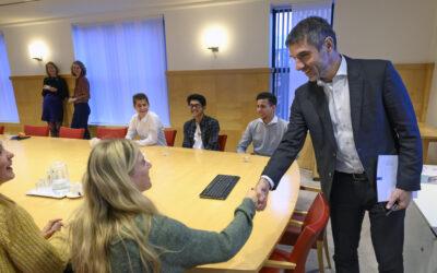 Jongerenambassadeurs maken impact met 'inspirerend en innovatief' advies over vaccinaties!