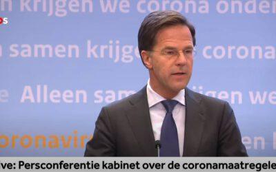 Rutte vraagt om jongereninput voor coronacrisis