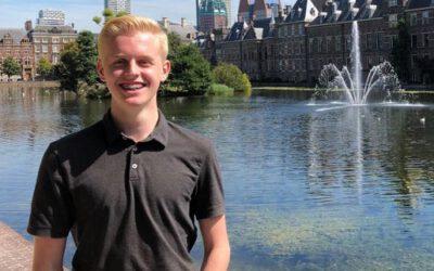 Tim is jongerenambassadeur bij het ministerie van BZK!