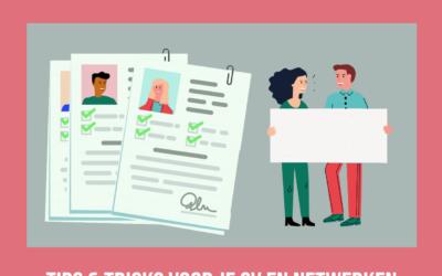 Tools voor de toekomst: tips & tricks voor je CV en netwerken!