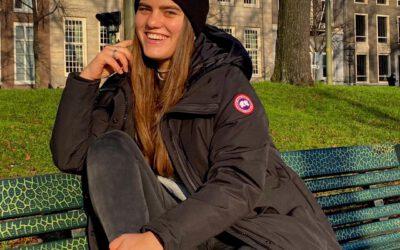 Britt is jongerenambassadeur bij VVD Den Haag!