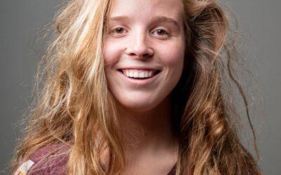 Nynke is jongerenambassadeur bij het Bloemencorso Lichtenvoorde