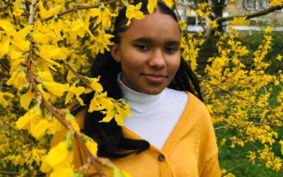Angelle is jongerenambassadeur bij het Nederlands Jeugdinsituut!
